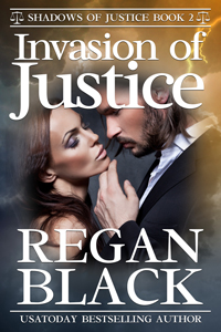 Invasion of Justice cover Book 2 Shadows of Justice series