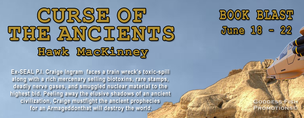 Curse of the Ancients by Hawk MacKinney Book Tour - Author